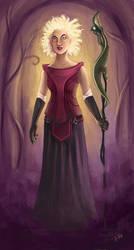wizardess by titta