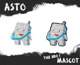 Asto the nro 1 mascot by titta
