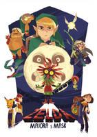 Zelda : Majora's Mask by Pikila