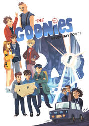 The Goonies never say 'die' ! by Pikila
