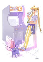 90s Usagi by Pikila
