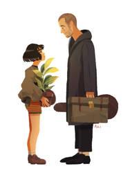 Leon and Mathilda by Pikila