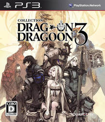 Drakengard 3 PS3 cover by RimComics