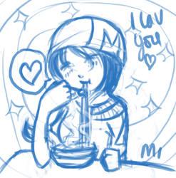 Noodle Soup is Lav by Mimi-Imi