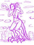I am a raptor by Mimi-Imi