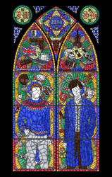 Stained glass by kennichka