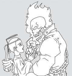 Ghost Rider HW by Shadobi
