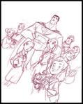 World's Finest - Superman by DanSchoening