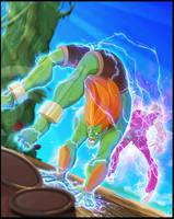 Street Fighter Tribute by DanSchoening