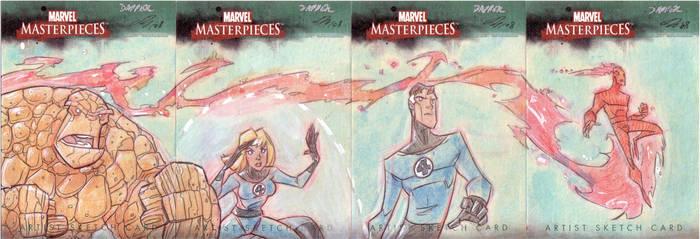 Marvel Masterpiece - Fantastic by DanSchoening
