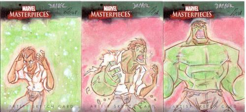 Marvel Masterpiece - Hulk by DanSchoening