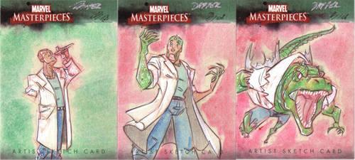 Marvel Masterpiece - Lizard by DanSchoening