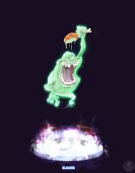 Ghostbusters - Slimer by DanSchoening