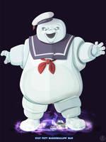Ghostbusters - Stay Puft by DanSchoening