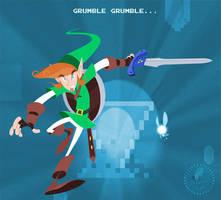 Link and Navi by DanSchoening