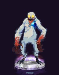 Ghostbusters - Wendigo by DanSchoening
