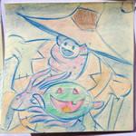 Halloween Post It Day 3 by DanSchoening