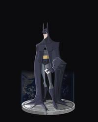 The Dark Knight by DanSchoening