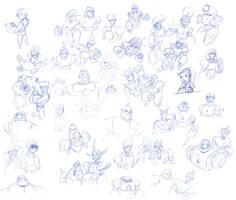 Bomber Blueprints by DanSchoening
