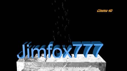 3D Intro Cinema 4D Jimfox777 by blueMALOU