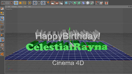 Happy Birthday CelestialRayna 2018 by blueMALOU