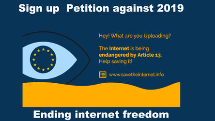 Save Internet Petition  2019 by blueMALOU