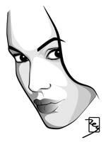 Angelina Jolie by reyexzyl