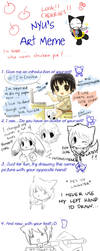 Nyu's Art Meme by cheeka-pyo