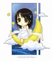 Nocturnal Miyu by cheeka-pyo