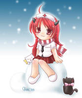 Chibi Gaia : Pluto_san by cheeka-pyo