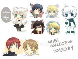 Chibi Collection Issued 1 by cheeka-pyo
