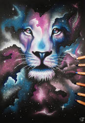 lion by DownfallInDeath