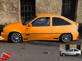 Opel Kadet GSI by Boban031