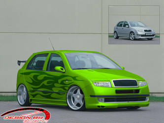 Skoda Fabia by Boban031