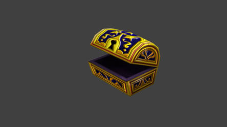 Kingdom Hearts Treasure Chest by blackmist45