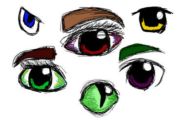 Eyes by OutLandIshEmpire
