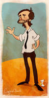 Daniel Faraday by CaptainChants