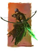 FEZ archer by onestepart