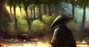 samurai by onestepart