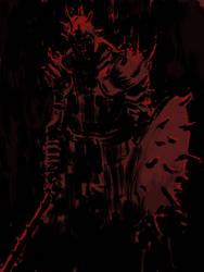 Kirk, Knight of thorns - Dark Souls by onestepart