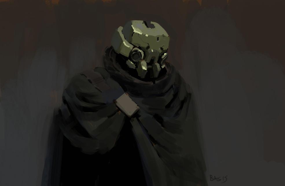 Cloak robot by onestepart