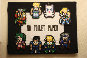No Toilet Paper Perler by Neo-Shadow-Bat