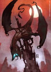 :Dragon Queen: by martinhoulden
