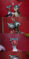 Helmets for dolls by Gogolle