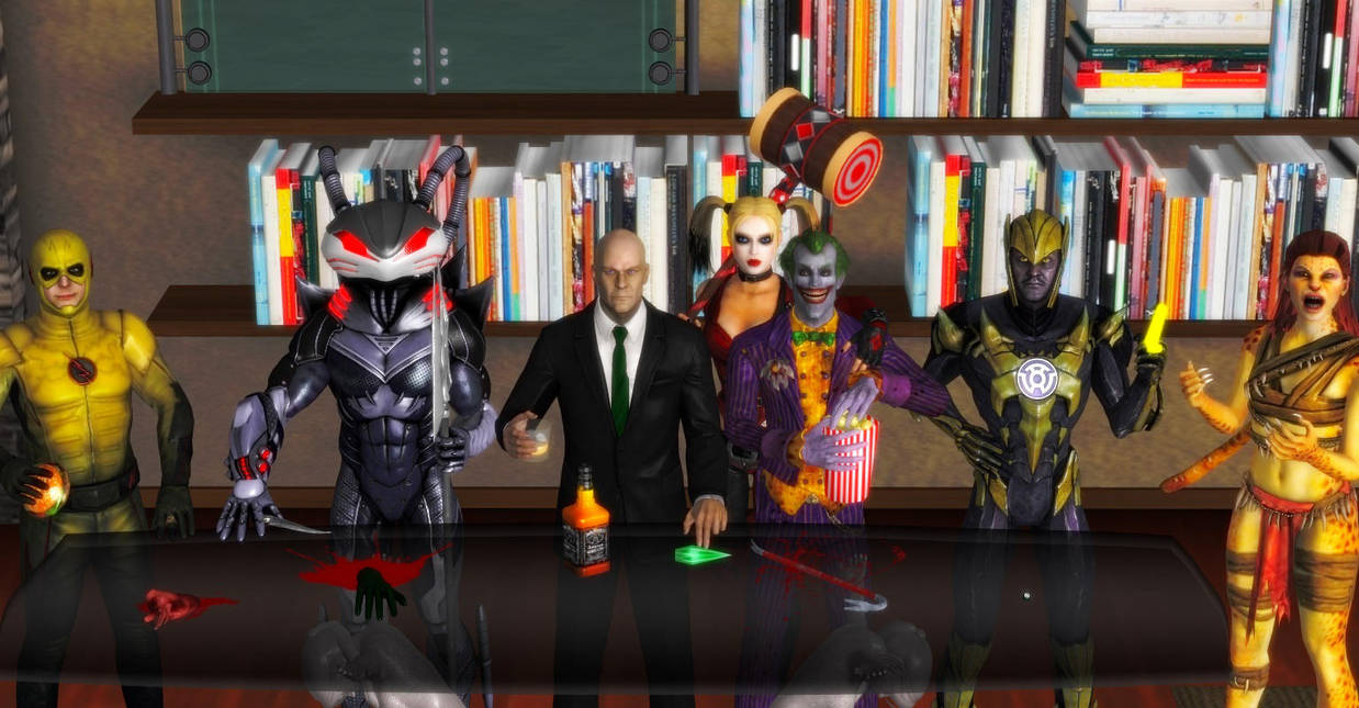 The Injustice League by WildGold