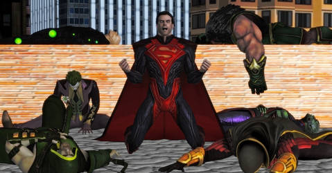 Superman Absolute Power by WildGold