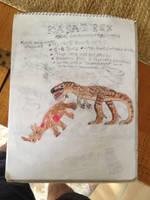 Cryptid Sketch: Kasai Rex by Strikerprime