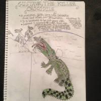 Cryptid Sketch: Gustave, the Killer Croc (Updated) by Strikerprime