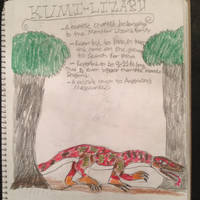 Cryptid Sketch: Kumi Lizard by Strikerprime