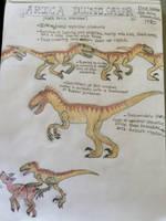 Cryptid Sketch: Arica Dinosaur by Strikerprime